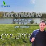 """DJ Colemay en """"Live stream"""""""