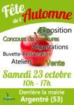 Fête de l'automne : samedi 23 octobre